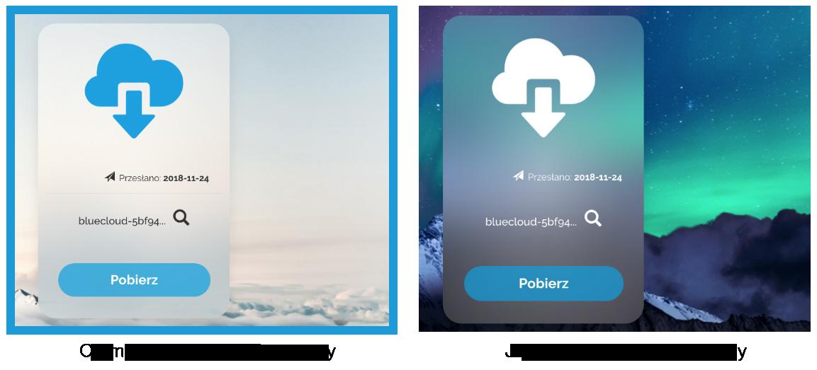 BlueCloud - Transfer plików, transferuj duże pliki, wysyłaj duże pliki na maila